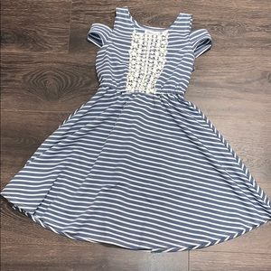 Bonnie Jean striped dress